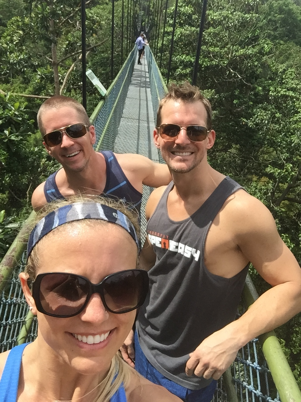 MacRitchie Reservoir's Tree Top Hike And Suspension Bridge In Singapore
