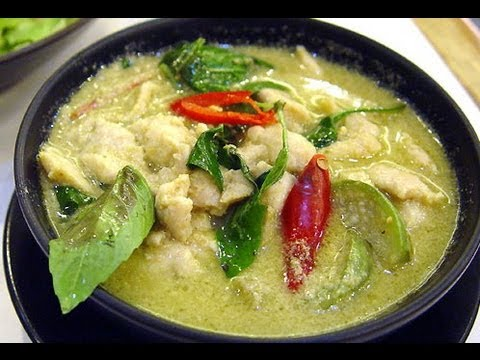 Thai Foods You MUST Try: Green Curry