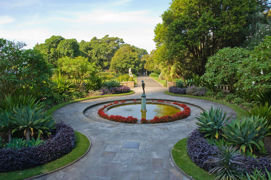 The botanic gardens in Sydney, Australia are a site to see when visiting!