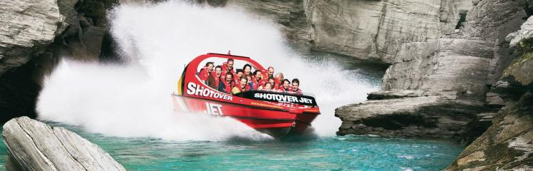 Queenstown, New Zealand: Shotover Jet Boat