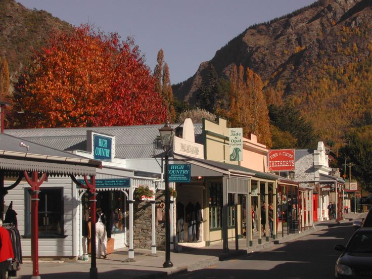 Queenstown, New Zealand: Arrowtown