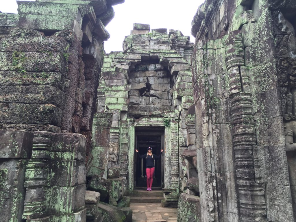Preah Khan In Siem Reap, Cambodia Is One Of The Most Unique Temple In The City