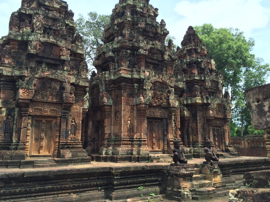 The Colors Of Banteay Syrei In Siem Reap, Cambodia Are Absolutely Gorgeous