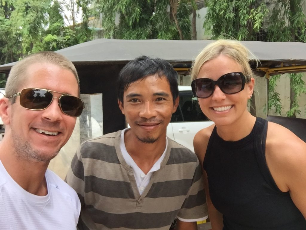 There is No Better Tuk Tuk Driver In All Of Siem Reap, Than Adam!