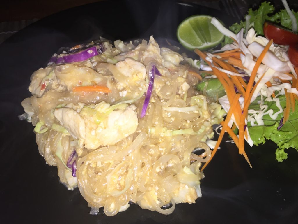 If you happen to be staying at the Phi Phi Island Village Beach Resort, then you MUST venture to the village behind the resort and eat at Pad Thai!