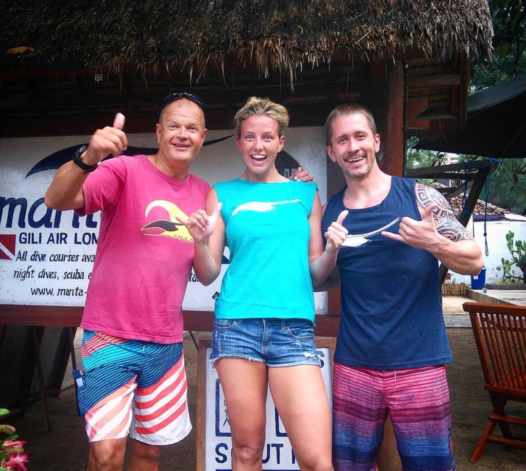 Manta Dive on Gili Air, Indonesia offers an affordable, safe, and thorough SSI Open Water Dive certification course!