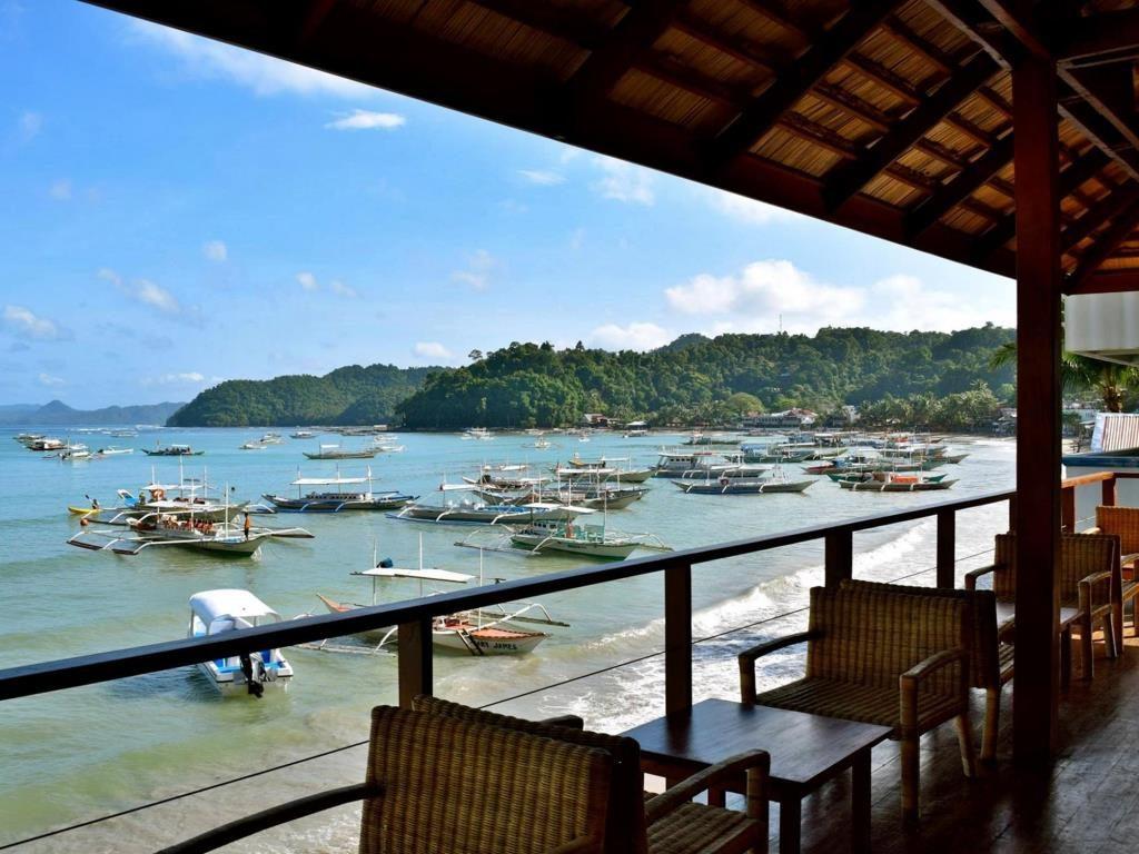 Great Views And Drinks At Mezzanine In El Nido, Palawan