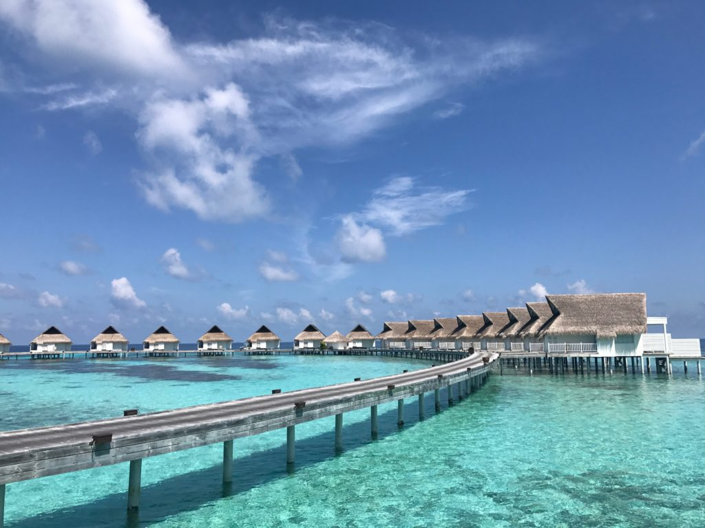 Centara Grand Island Resort & Spa in the Maldives is PURE perfect at every turn!