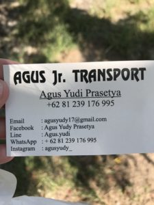 Always go with a reliable driver in Bali and Mr. Augus Yudi is surely reliable, kind and speaks great English!