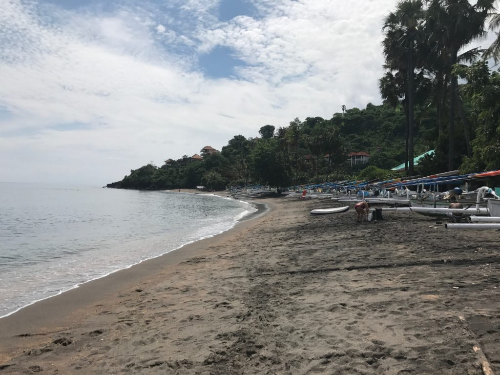 Amed, Bali: What To Do-Lipah Beach