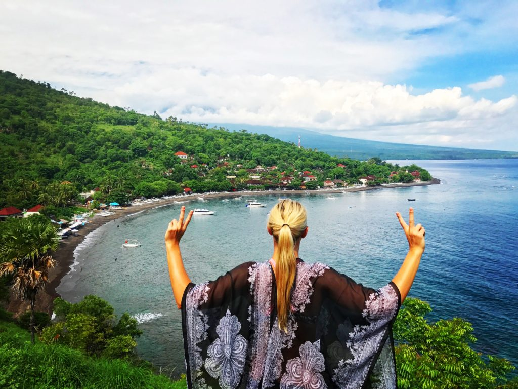 Amed, Bali: What To Do-Sunset Point