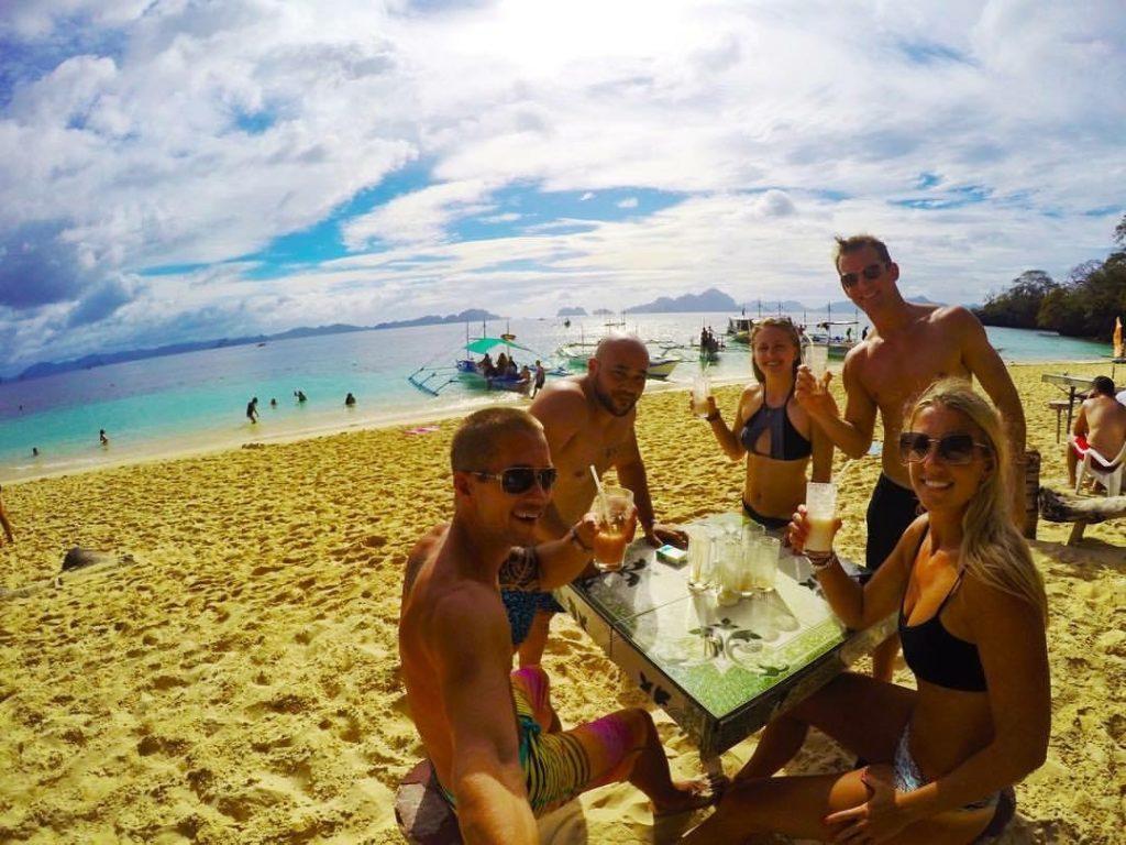 Hanging Out On Talisay Beach In El Nido, Palawan