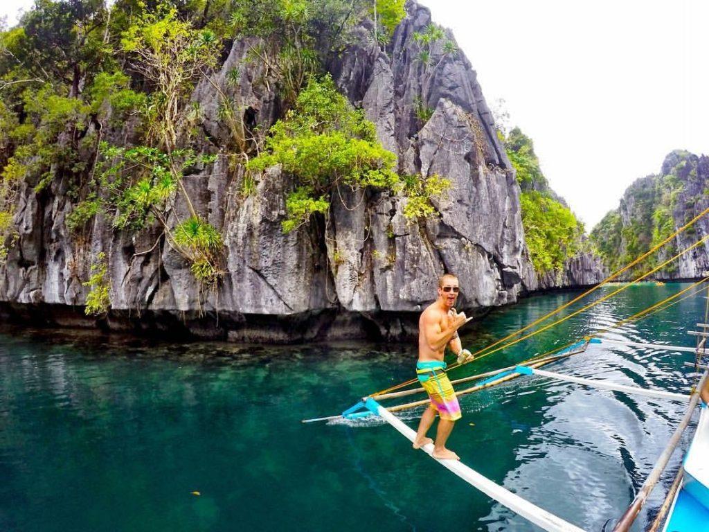 Big Lagoon In El Nido, Palawan