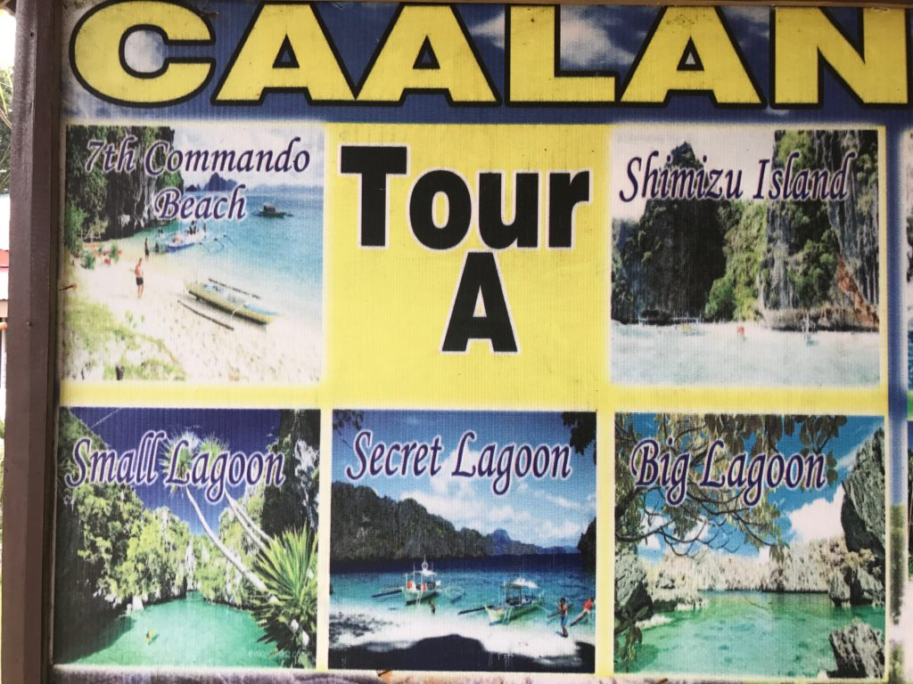 Tour A's Visited Sites In El Nido, Palawan