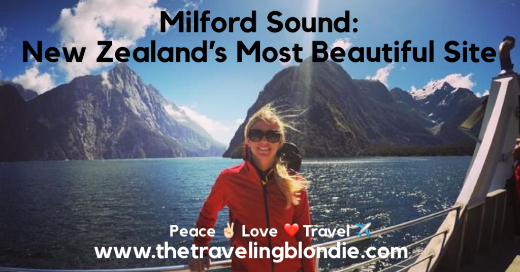 Milford Sound: New Zealand's Most Beautiful Site