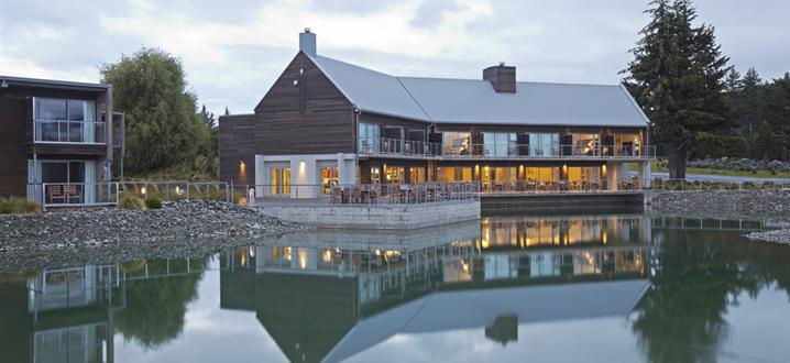 New Zealand: Peppers Bluewater Resort, Lake Tekapo