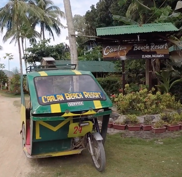 The Trike Is The BEST Way To Get Around The Town Of El Nido, Palawan