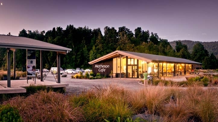 Matheson Cafe in Fox Glacier, New Zealand offers up delicious eats!