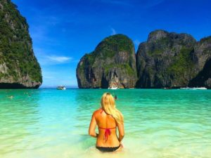 The Traveling Blondie In Phi Phi Island, Thailand
