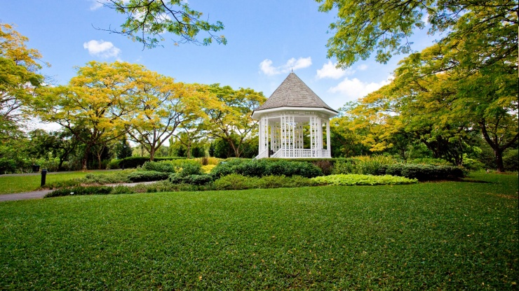 Singapore Botanic Gardens Are A Tranquil Getaway From The Bustling City