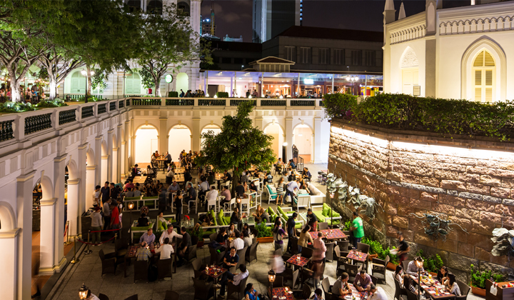 Chijmes Is The Perfect Place To Chill And Have a Drink In Singapore