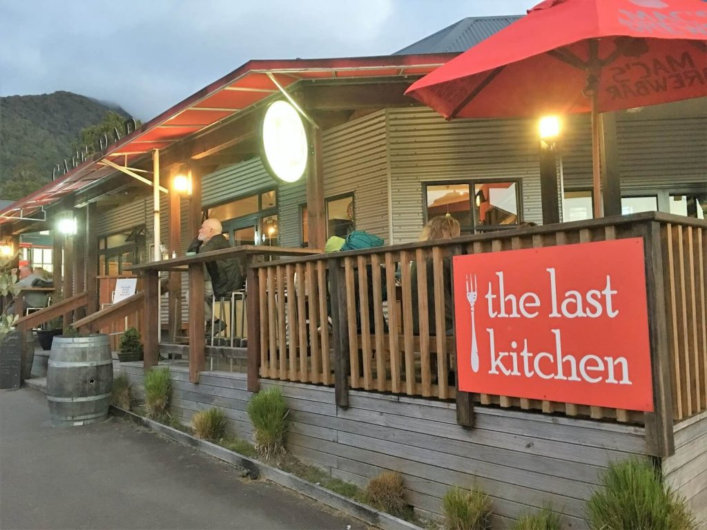 The Last Kitchen in Fox Glacier, New Zealand offers up delicious eats!