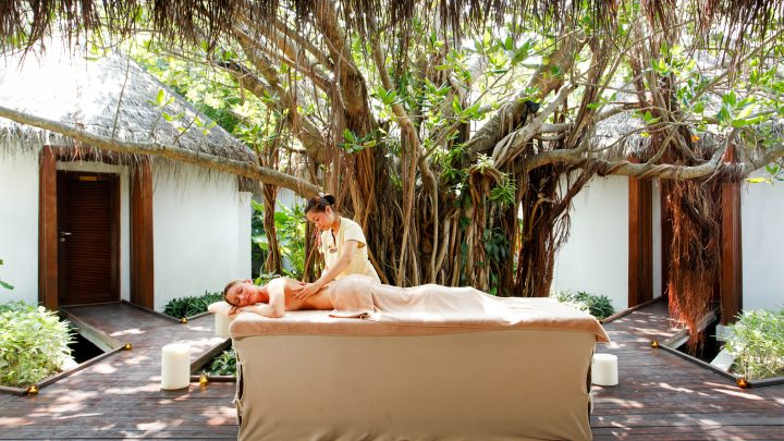 The Spa Cenvaree at Centara Grand Island Resort And Spa in the Maldives offers up every possible way imaginable for luxurious pampering!