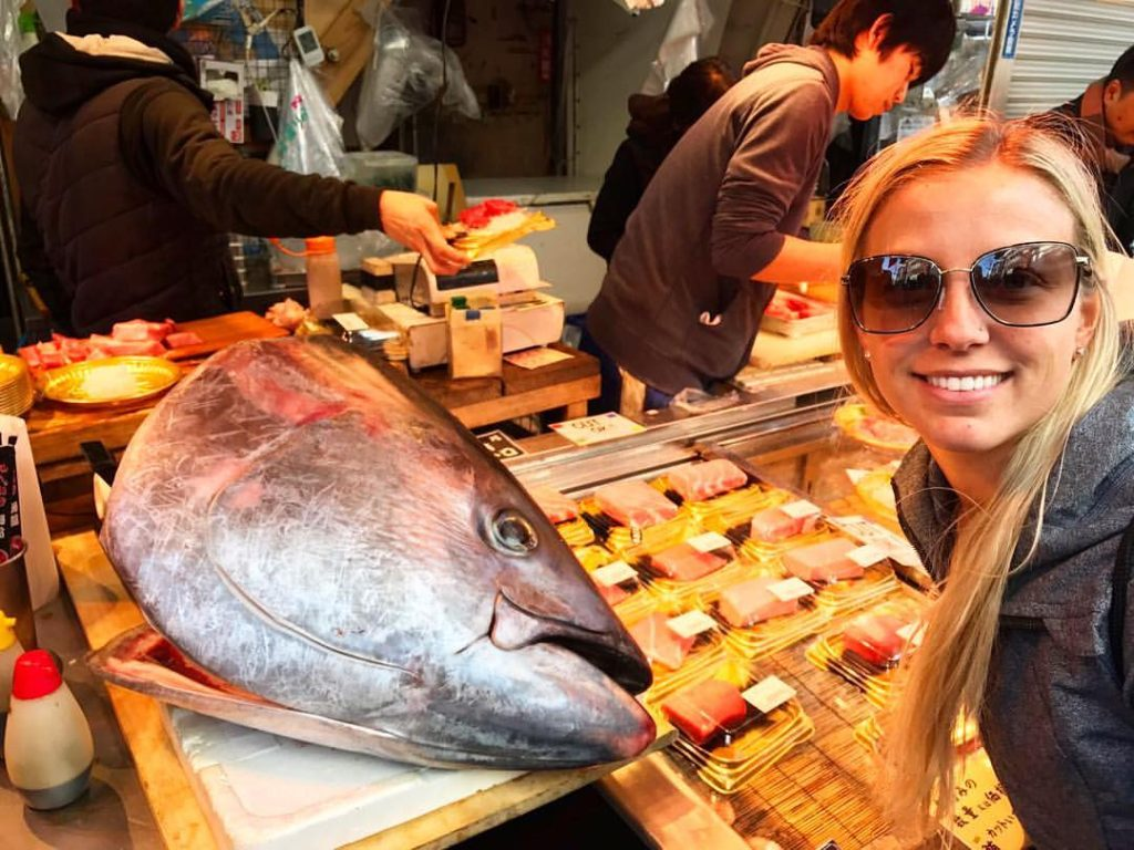 Tsukiji Fish Market is a MUST see when visiting Tokyo, Japan!