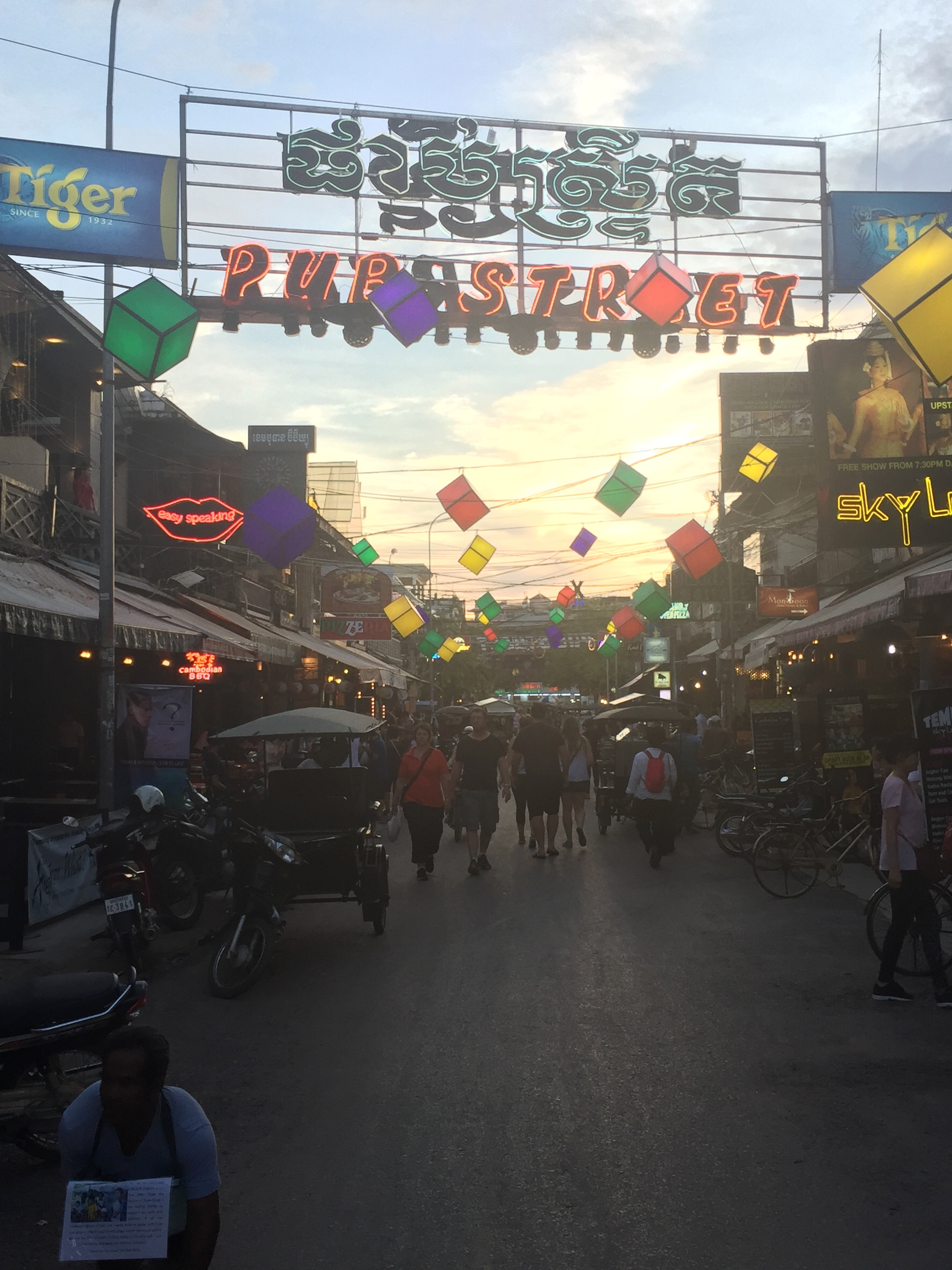 Pub Street Is Such A Fun Way To Spend The Evening After Exploring Temples In Siem Reap, Cambodia