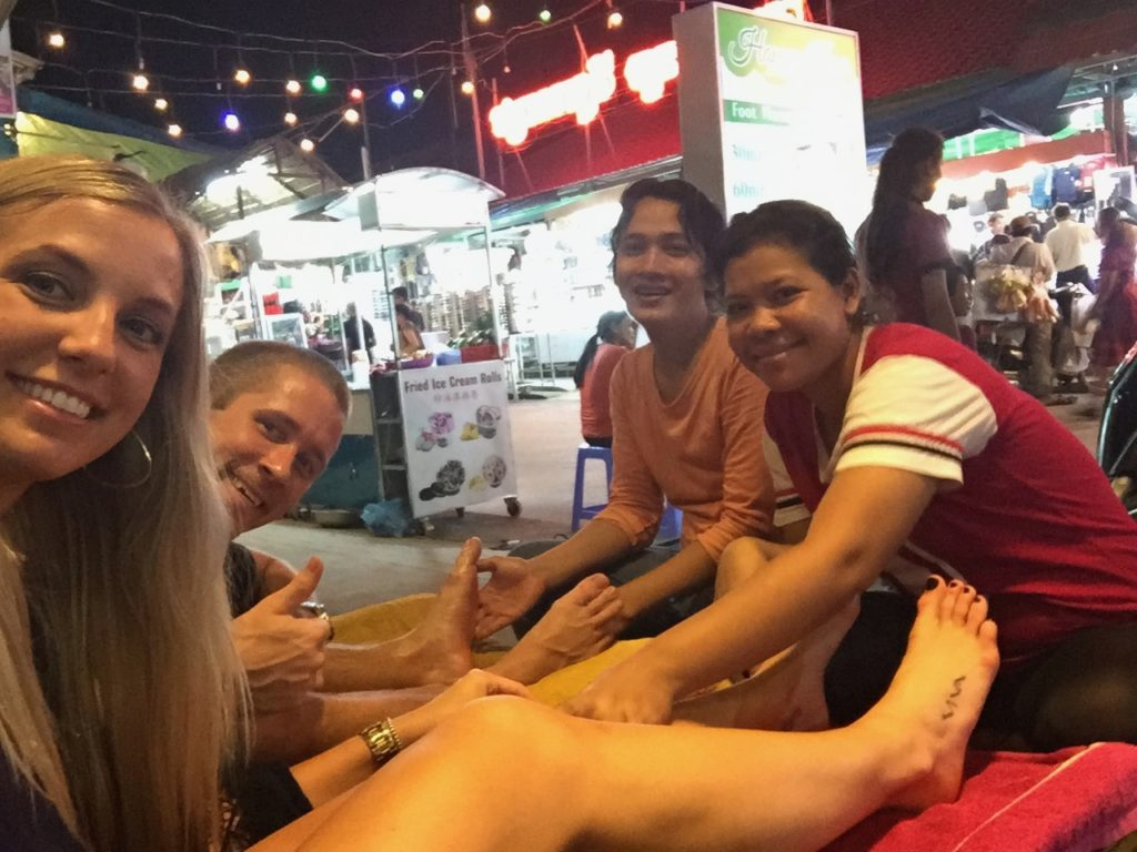 Massages Are A MUST Do After Temple Hopping All Day In Siem Reap, Cambodia
