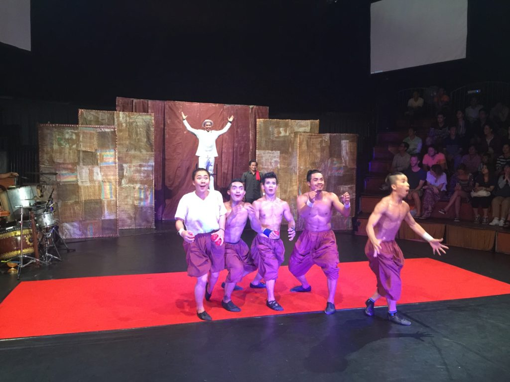 Super Talented Performers At The Phare Circus In Siem Reap, Cambodia