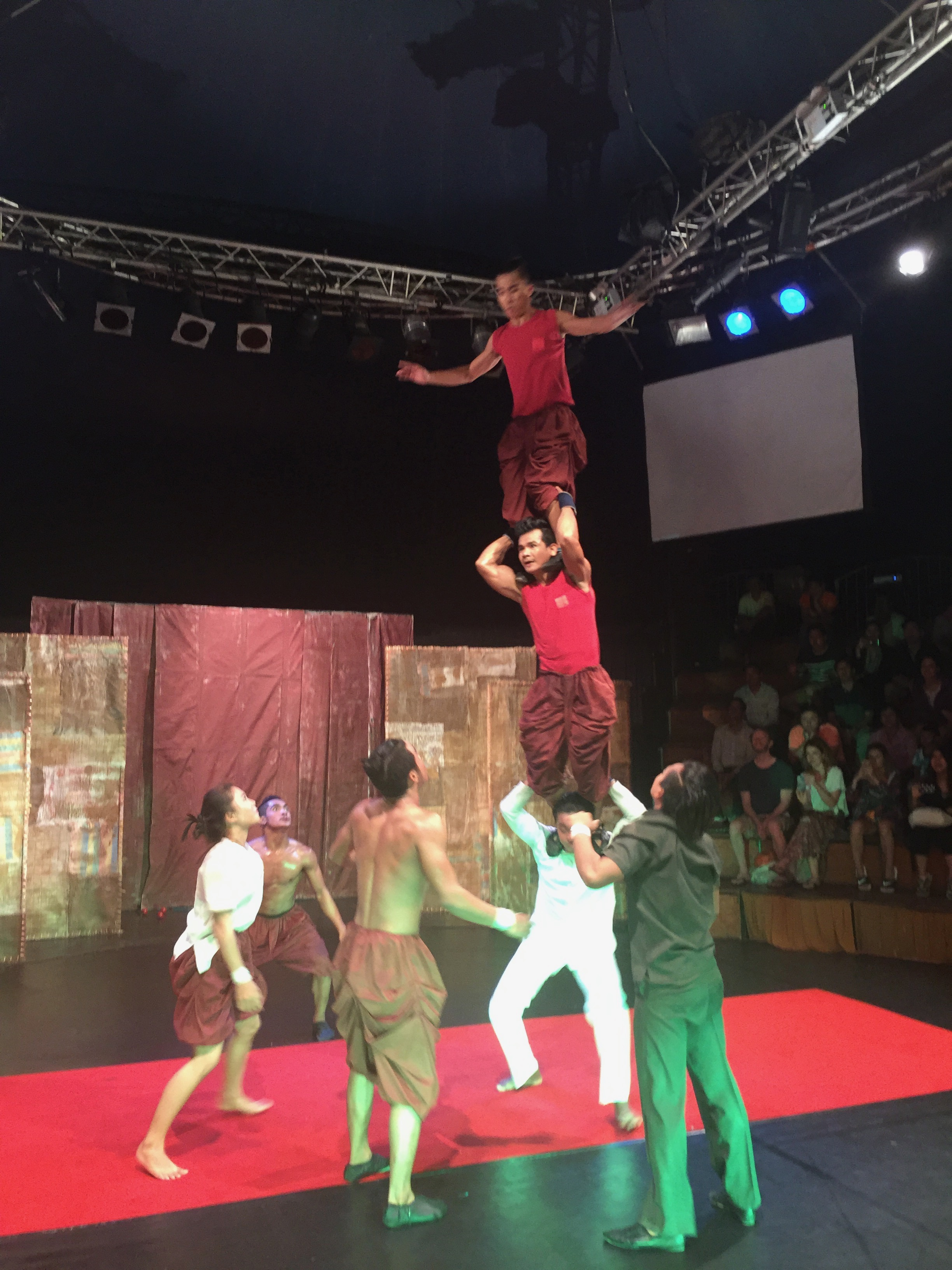 The Talents Of The Performers At The Phare Circus In Siem Reap, Cambodia Are Outstanding!