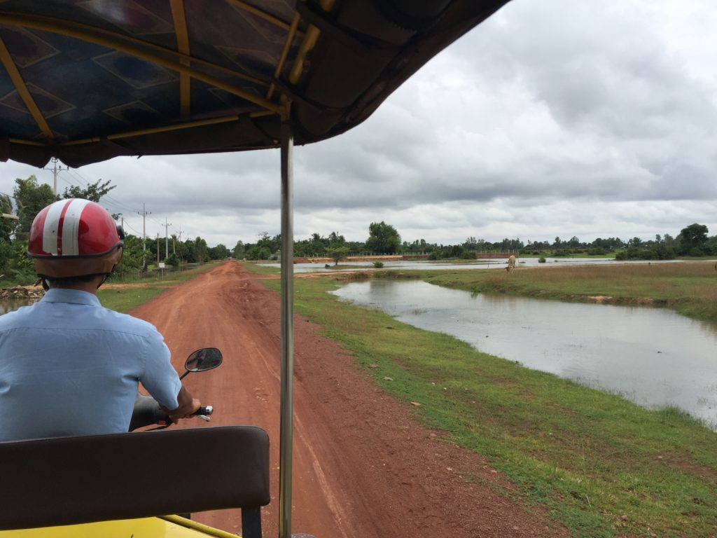 Road To The Floating Village In Siem Reap, Cambodia