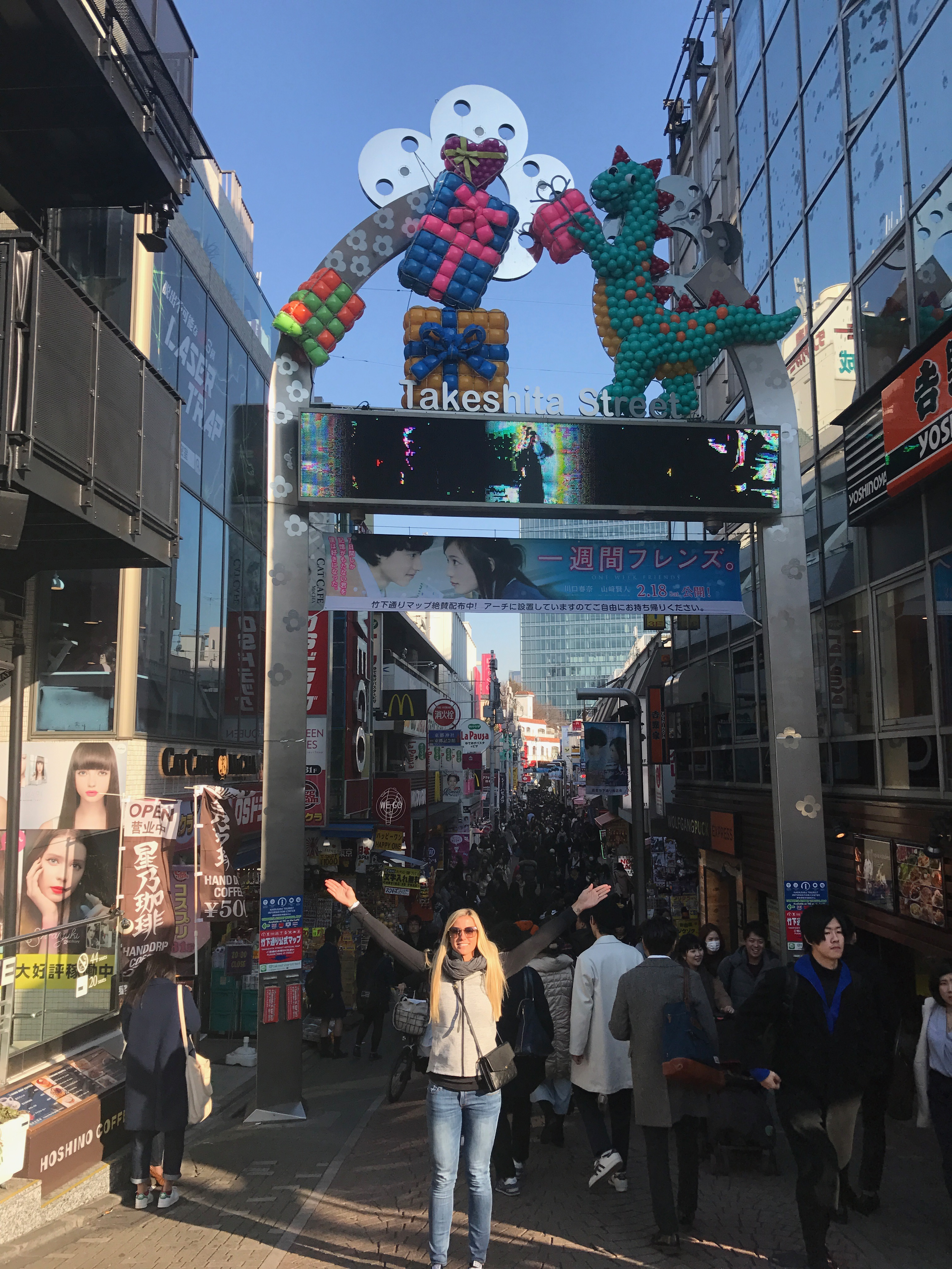 For all things food, shopping and fun, head to Takeshita Dori Street in Tokyo, Japan!