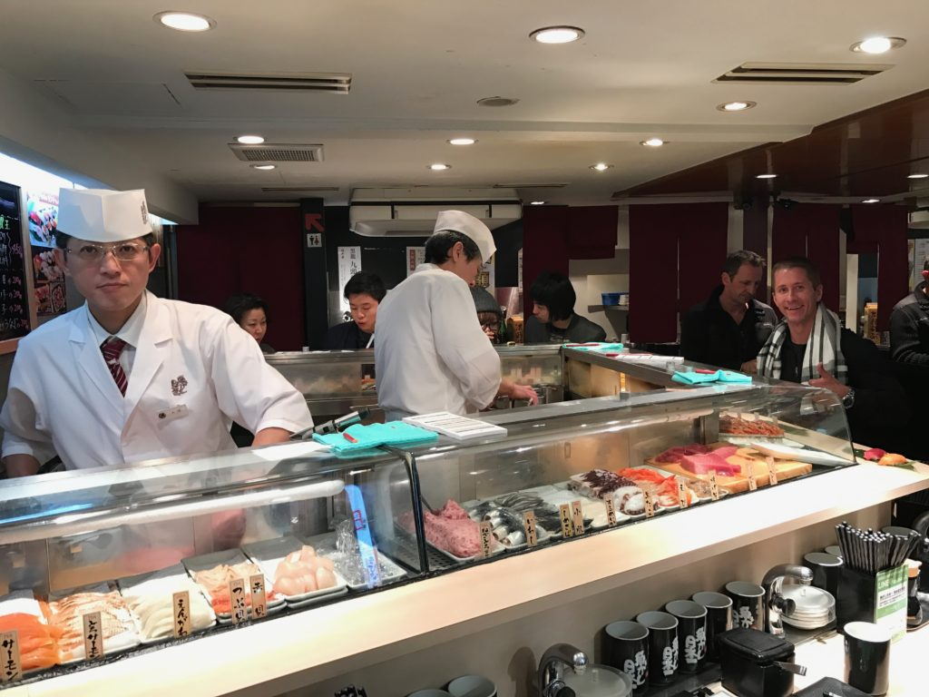If you're coming to Tokyo, Japan, then you MUST eat at Uogashi Nihon-Ichi Standing Sushi Bar. It's such a great experience and the sushi is AMAZING!