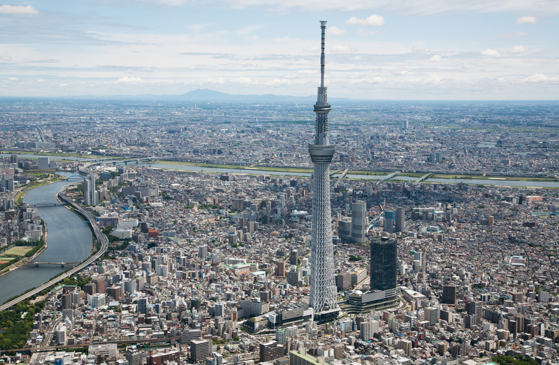 Tokyo SkyTree is an incredible site to see if you're visiting Japan!