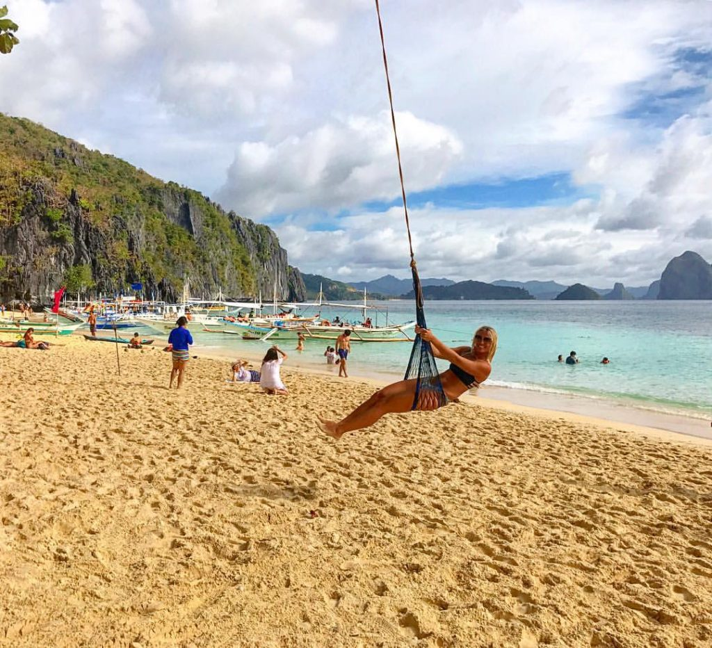 Top 10 Most Beautiful Beaches In Asia: 7 Commando Beach, El Nido, Palawan, Philippines
