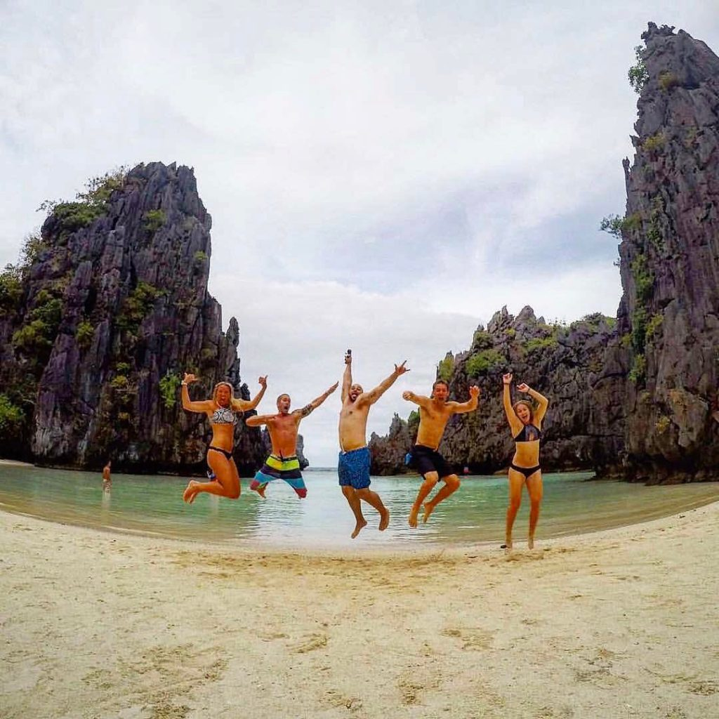 Top 10 Most Beautiful Beaches In Asia: Small Lagoon, El Nido, Palawan, Philippines