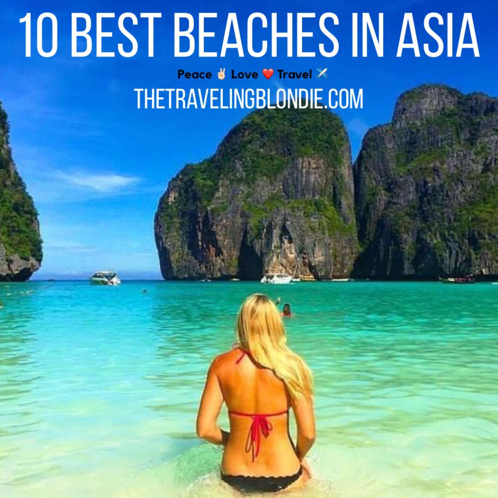 Top 10 Best Beaches In Asia