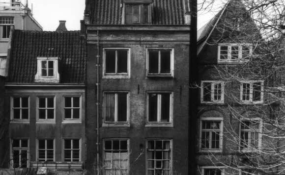 The Anne Frank House is a must see while visiting Amsterdam, Netherlands.
