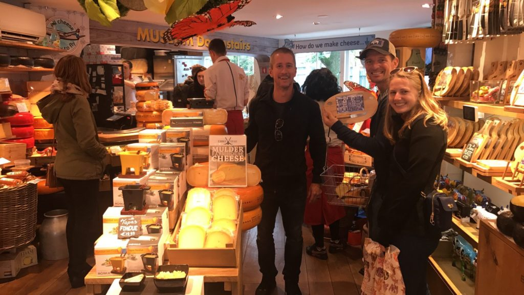 If you're a cheese lover, than the Cheese Museum in Amsterdam, Netherlands is a MUST see!