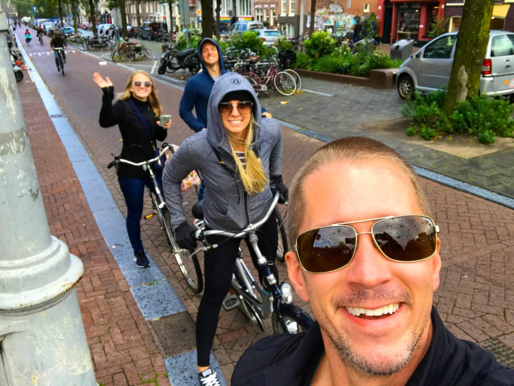 Biking is the BEST way to get around the city of Amsterdam, Netherlands!