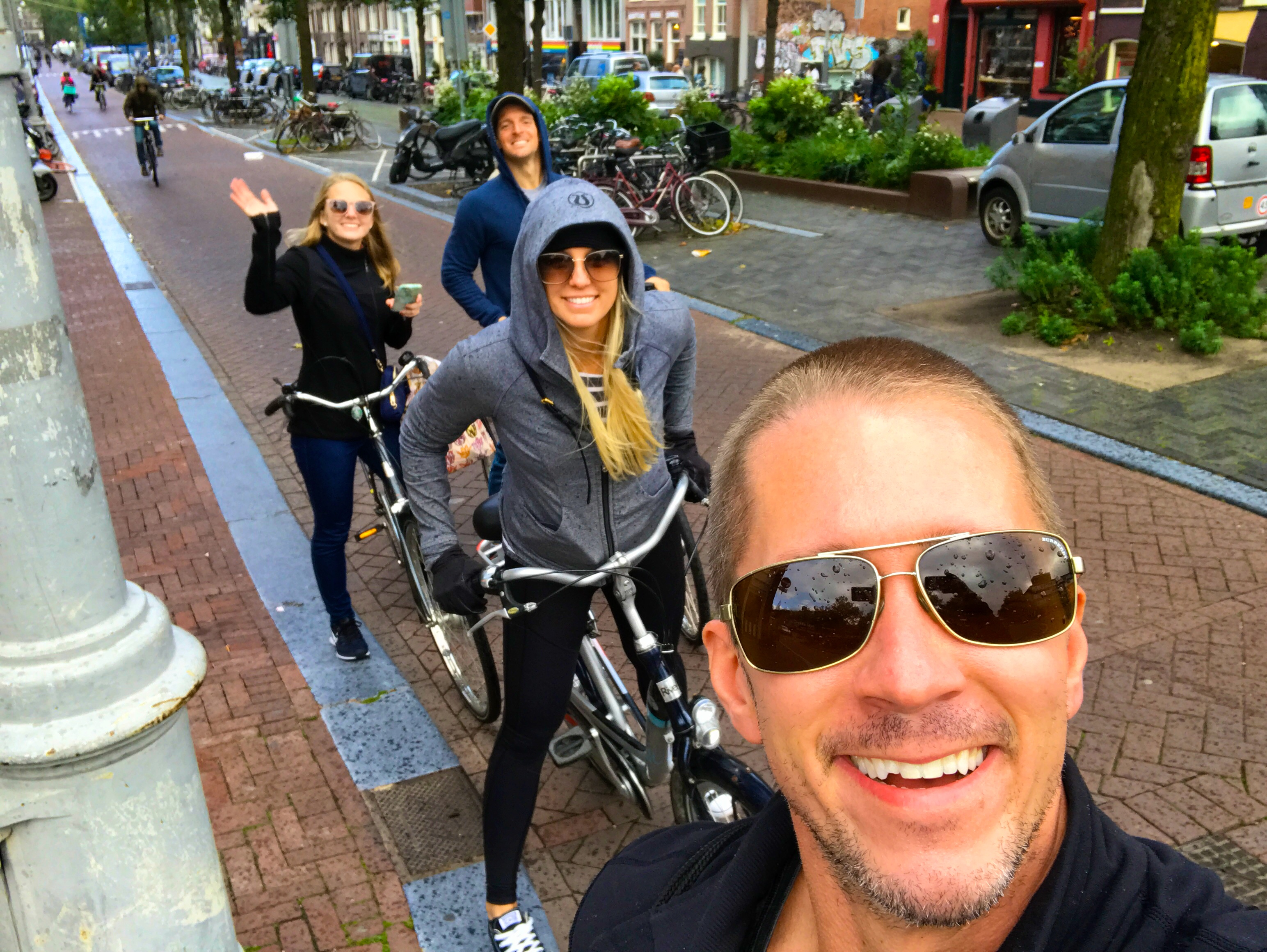 Biking is the BEST way to get around the city of Amsterdam, Netherlands!
