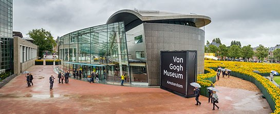 The Van Gough Museum is a must see when visiting Amsterdam, Netherlands!