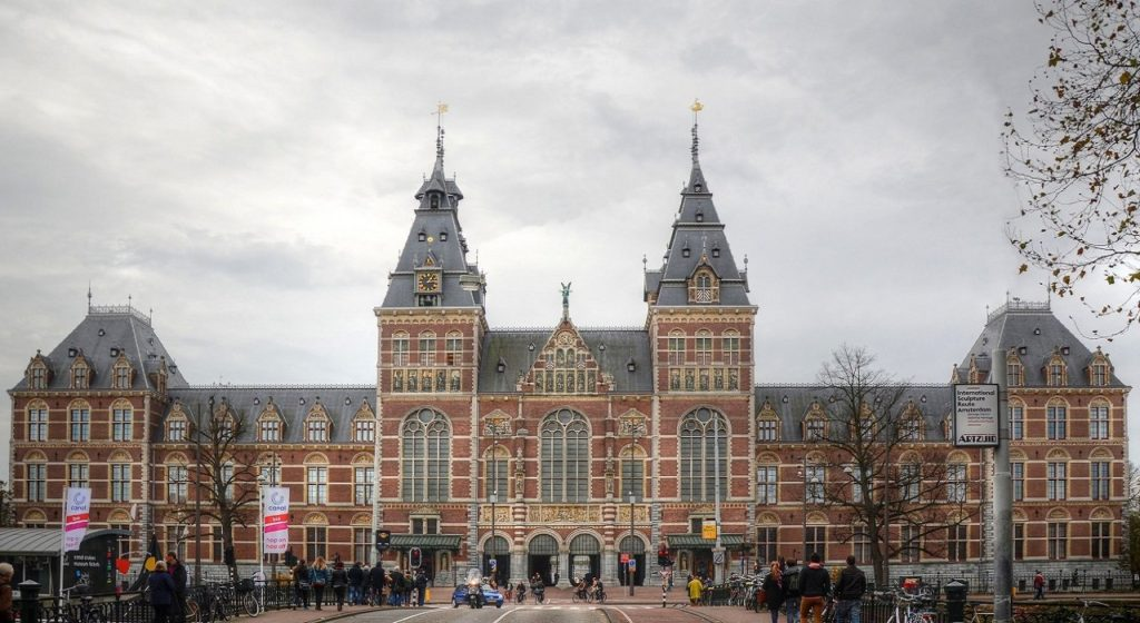 Rijksmuseum in Amsterdam, Netherlands is a must see from both the inside and out!