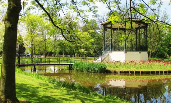 Vondelpark is the perfect place to relax, unwind, go for a run or a stroll in Amsterdam, Netherlands.