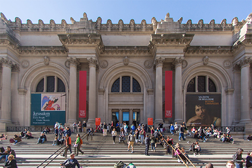 If you're into art, then a visit to the MET is a must in New York City!