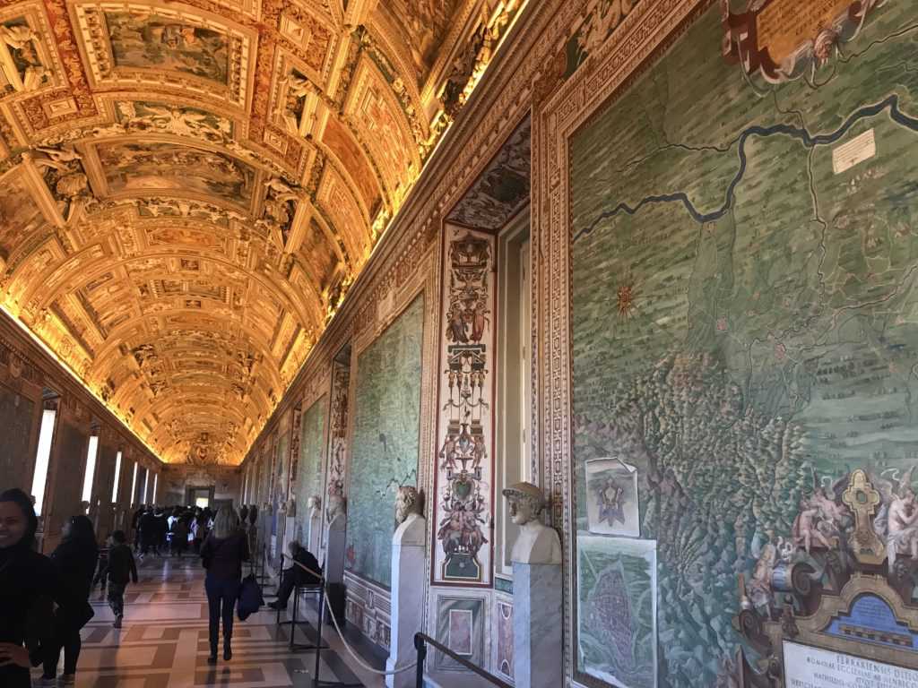 The Vatican Museum and Sistine Chapel are part of the MUST SEE sites in Rome, Italy