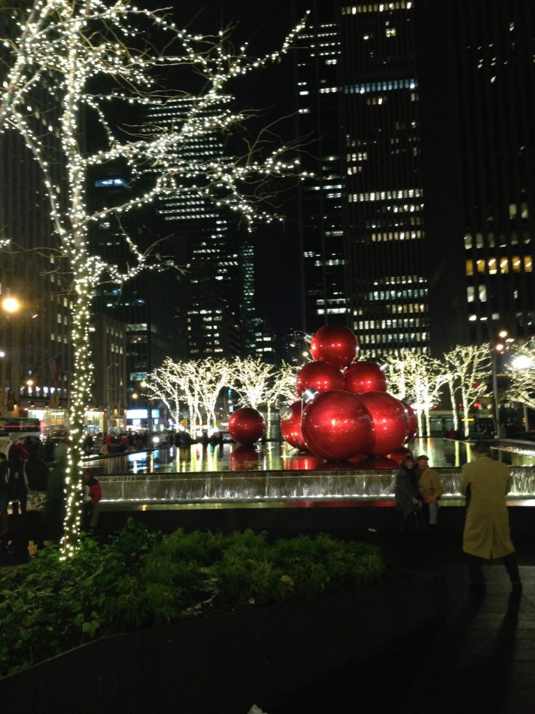 The iconic Christmas Tree at Rockefeller Center is something you cannot miss when visiting New York City!