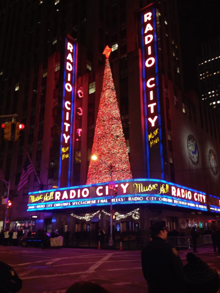 The iconic Radio City Music Hall is a must see, even if its just from the outside! If you can find the time and get tickets beforehand, be sure to catch a show!